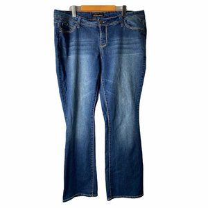 Royalty For Me Women's Size 16W Bootcut Jeans